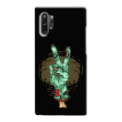 Hand Peace Sign Samsung Galaxy Note 10 Case