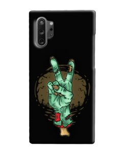 Hand Peace Sign Samsung Galaxy Note 10 Plus Case