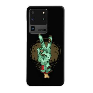 Hand Peace Sign Samsung Galaxy S20 Ultra Case