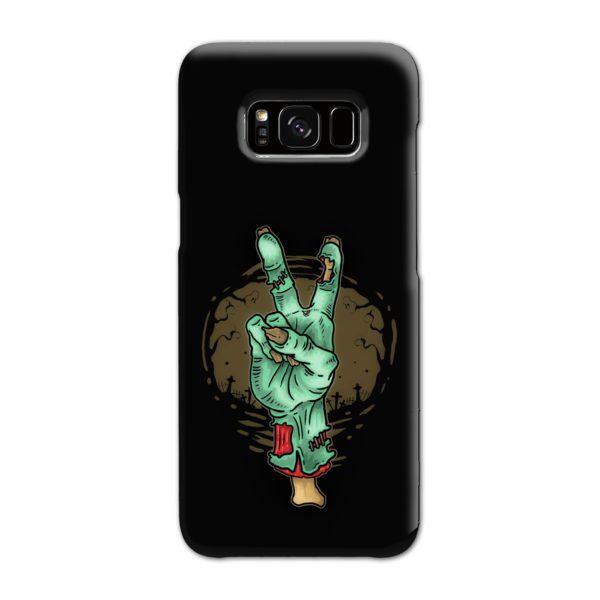 Hand Peace Sign Samsung Galaxy S8 Case