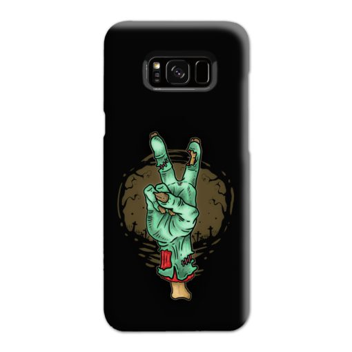 Hand Peace Sign Samsung Galaxy S8 Plus Case