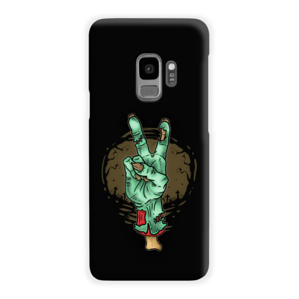 Hand Peace Sign Samsung Galaxy S9 Case