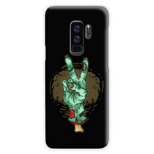 Hand Peace Sign Samsung Galaxy S9 Plus Case