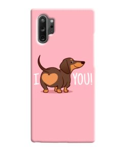 I Love You My Dachshund Quote Samsung Galaxy Note 10 Case