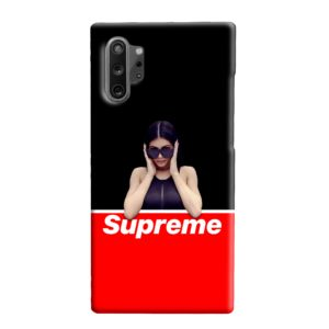 Kylie Jenner Supreme Samsung Galaxy Note 10 Plus Case
