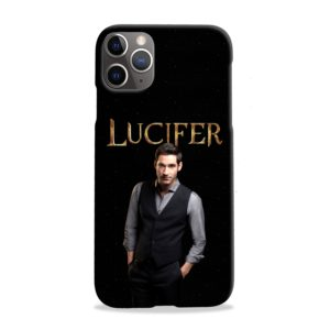 Lucifer Tom Ellis TV Series Fan Love iPhone 11 Pro Max Case