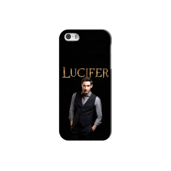 Lucifer Tom Ellis TV Series Fan Love iPhone 5 Case