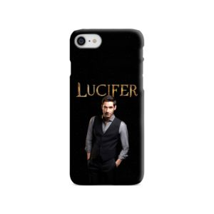 Lucifer Tom Ellis TV Series Fan Love iPhone 8 Case