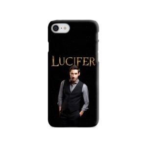 Lucifer Tom Ellis TV Series Fan Love iPhone SE (2020) Case