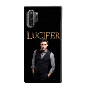 Lucifer Tom Ellis TV Series Fan Love Samsung Galaxy Note 10 Plus Case