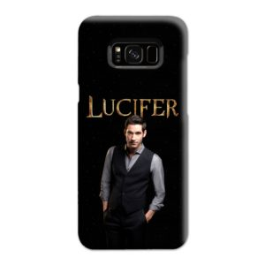 Lucifer Tom Ellis TV Series Fan Love Samsung Galaxy S8 Plus Case