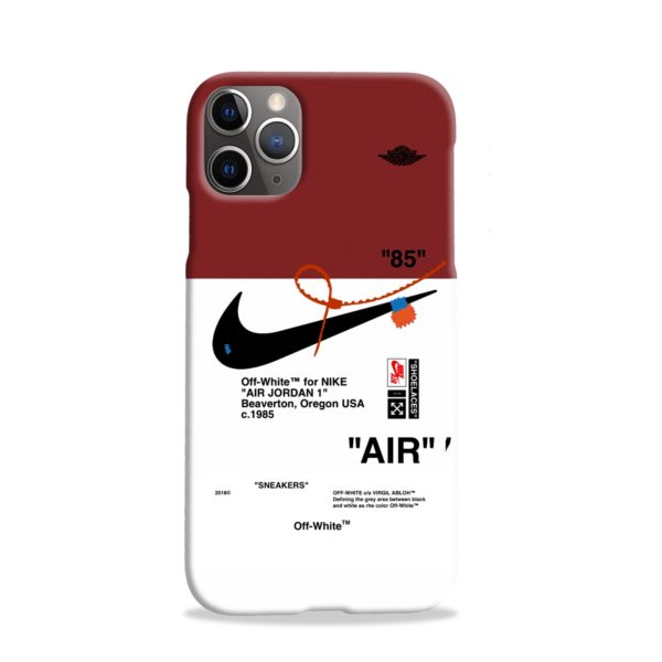 Nike Jordan iPhone 11 Pro Case