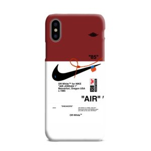 Nike Jordan iPhone XS Max Case