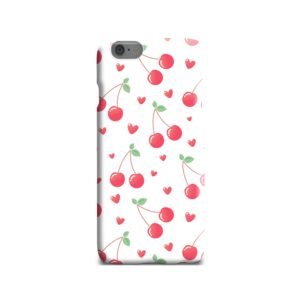 Pink Cherry Fruit iPhone 6 Case
