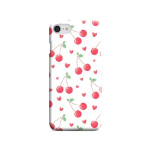 Pink Cherry Fruit iPhone 8 Case