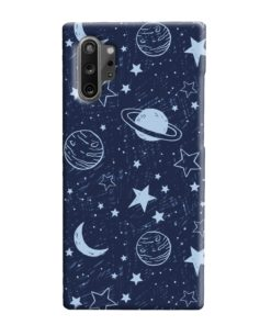 Planets Space Samsung Galaxy Note 10 Plus Case