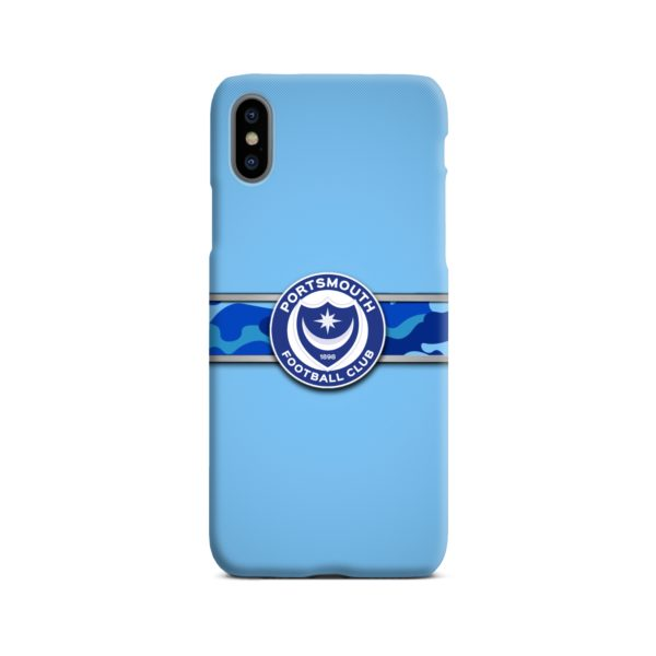 Portsmouth FC Logo iPhone X / XS Case