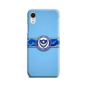 Portsmouth FC Logo iPhone XR Case