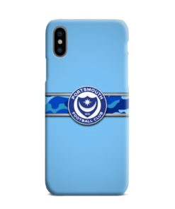 Portsmouth FC Logo iPhone XS Max Case