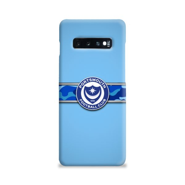 Portsmouth FC Logo Samsung Galaxy S10 Plus Case