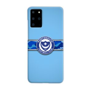 Portsmouth FC Logo Samsung Galaxy S20 Plus Case