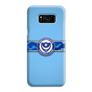 Portsmouth FC Logo Samsung Galaxy S8 Plus Case
