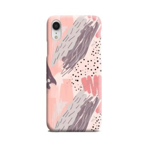 Romantic Watercolor Abstract Textures iPhone XR Case