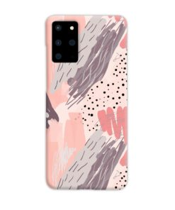 Romantic Watercolor Abstract Textures Samsung Galaxy S20 Plus Case