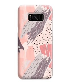 Romantic Watercolor Abstract Textures Samsung Galaxy S8 Plus Case