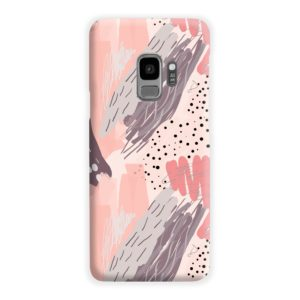 Romantic Watercolor Abstract Textures Samsung Galaxy S9 Case