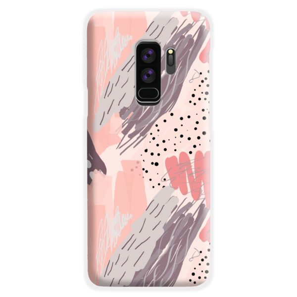 Romantic Watercolor Abstract Textures Samsung Galaxy S9 Plus Case