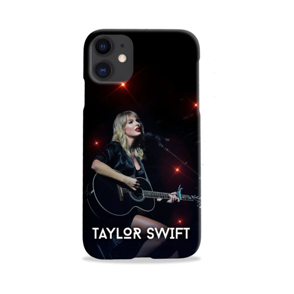 Taylor Swift Acoustic Concert iPhone 11 Case