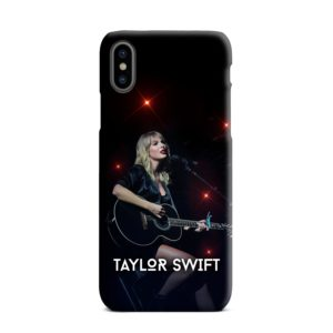 Taylor Swift Acoustic Concert iPhone XS Max Case