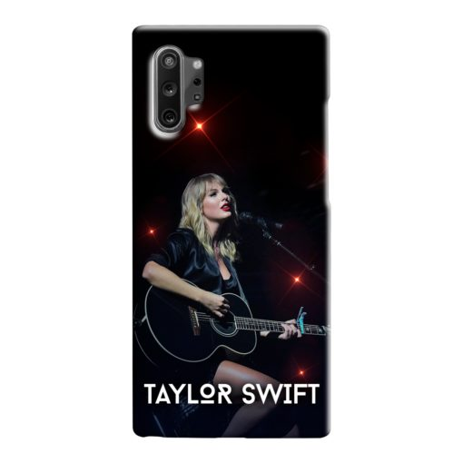 Taylor Swift Acoustic Concert Samsung Galaxy Note 10 Case