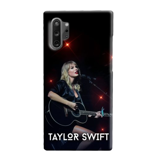 Taylor Swift Acoustic Concert Samsung Galaxy Note 10 Plus Case