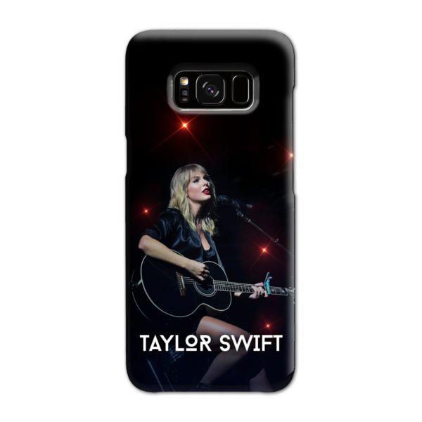 Taylor Swift Acoustic Concert Samsung Galaxy S8 Case