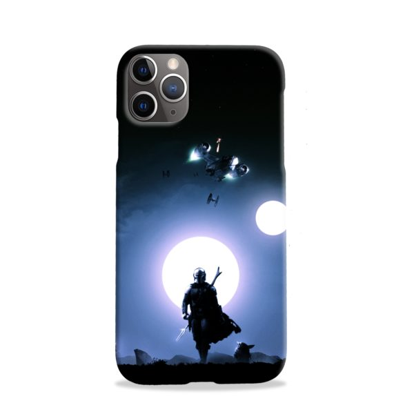 The Mandalorian Poster iPhone 11 Pro Case