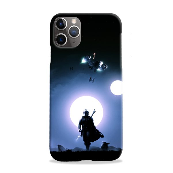 The Mandalorian Poster iPhone 11 Pro Max Case