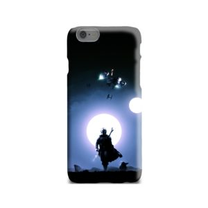 The Mandalorian Poster iPhone 6 Case