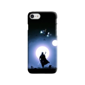 The Mandalorian Poster iPhone 8 Case