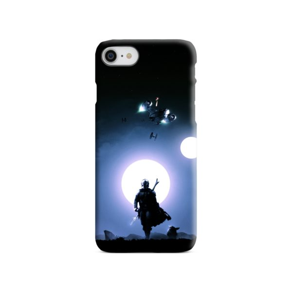 The Mandalorian Poster iPhone SE (2020) Case