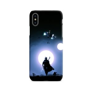 The Mandalorian Poster iPhone X / XS Case