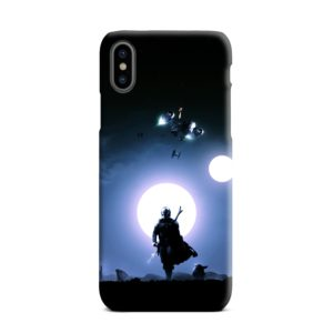 The Mandalorian Poster iPhone XS Max Case