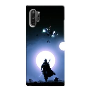 The Mandalorian Poster Samsung Galaxy Note 10 Case