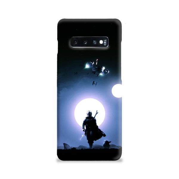 The Mandalorian Poster Samsung Galaxy S10 Plus Case