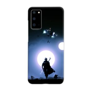The Mandalorian Poster Samsung Galaxy S20 Case