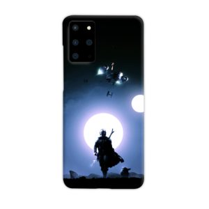 The Mandalorian Poster Samsung Galaxy S20 Plus Case