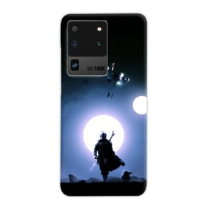 The Mandalorian Poster Samsung Galaxy S20 Ultra Case