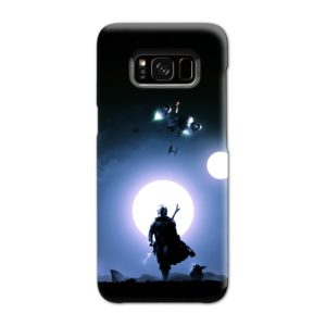 The Mandalorian Poster Samsung Galaxy S8 Case