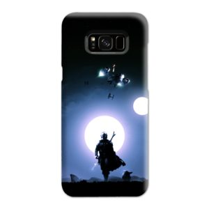 The Mandalorian Poster Samsung Galaxy S8 Plus Case